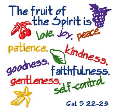 March 2012 uc ministries blog for Fruit of the spirit goodness craft